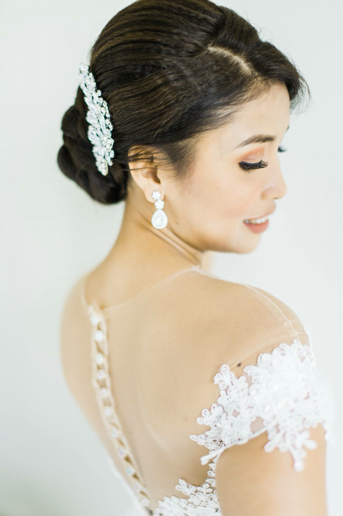 Bride: Michelle ❤️ by Nybie Ng Make Up Artistry - 010