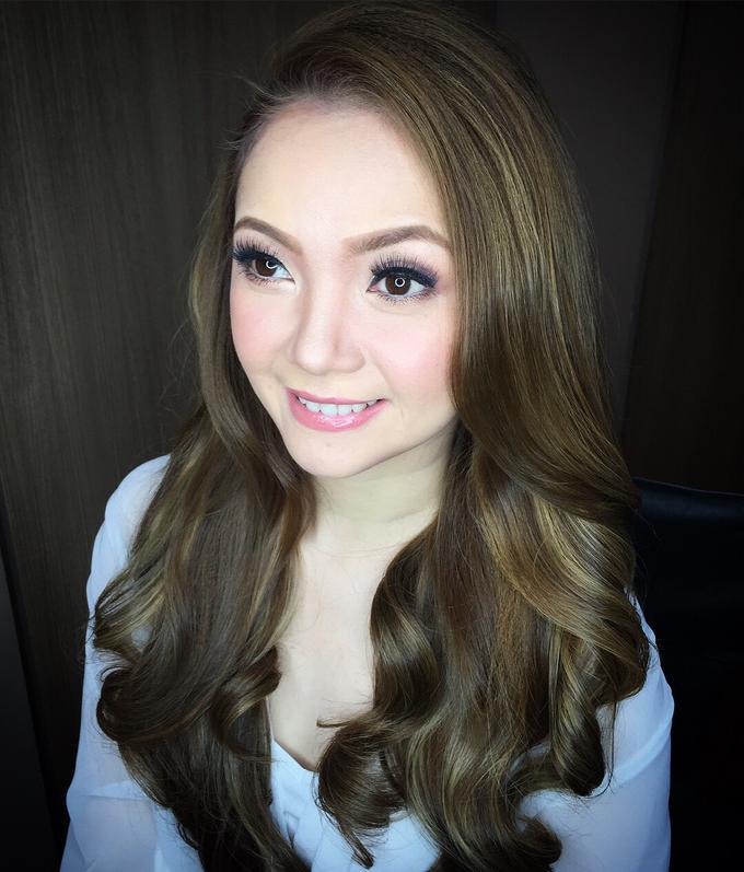 BRIDE: Maricar ❤️ by Nybie Ng Make Up Artistry - 003