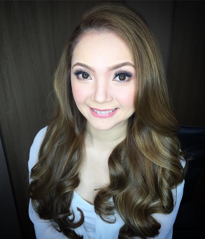 BRIDE: Maricar ❤️ by Nybie Ng Make Up Artistry - 002