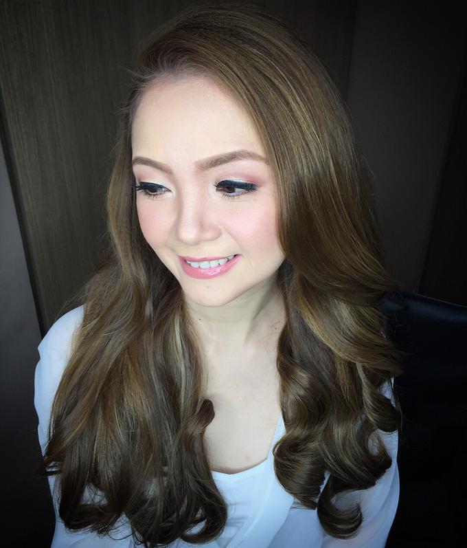 BRIDE: Maricar ❤️ by Nybie Ng Make Up Artistry - 004