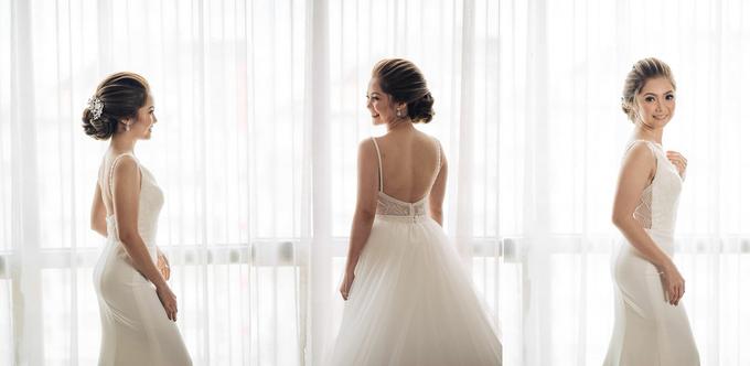 BRIDE: Maricar ❤️ by Nybie Ng Make Up Artistry - 009