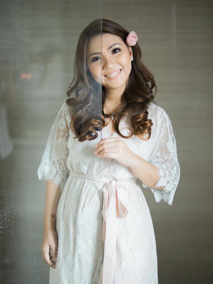 BRIDE: Monina ❤️ by Nybie Ng Make Up Artistry - 003