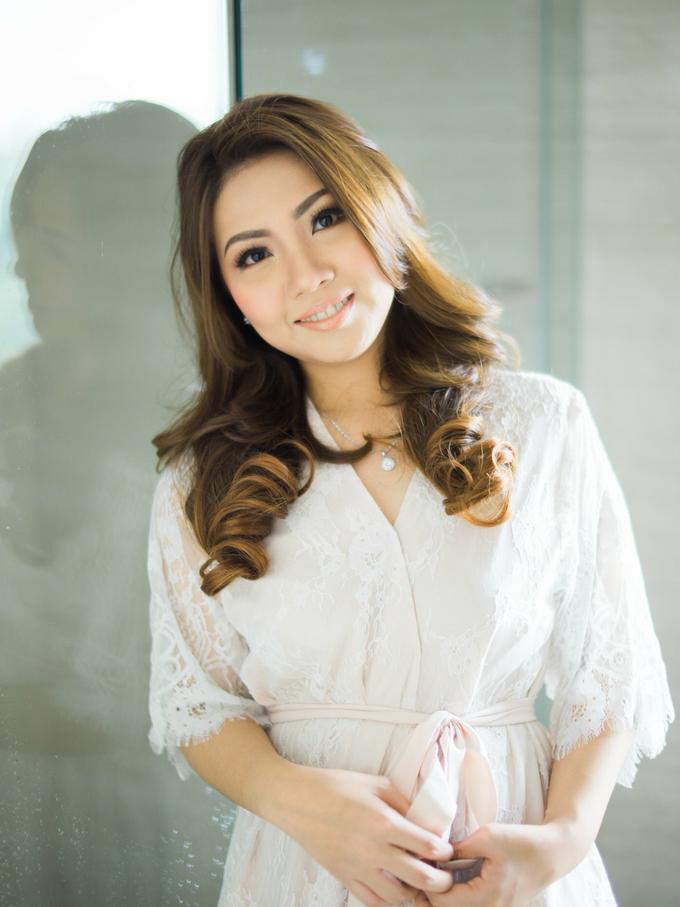 BRIDE: Monina ❤️ by Nybie Ng Make Up Artistry - 004