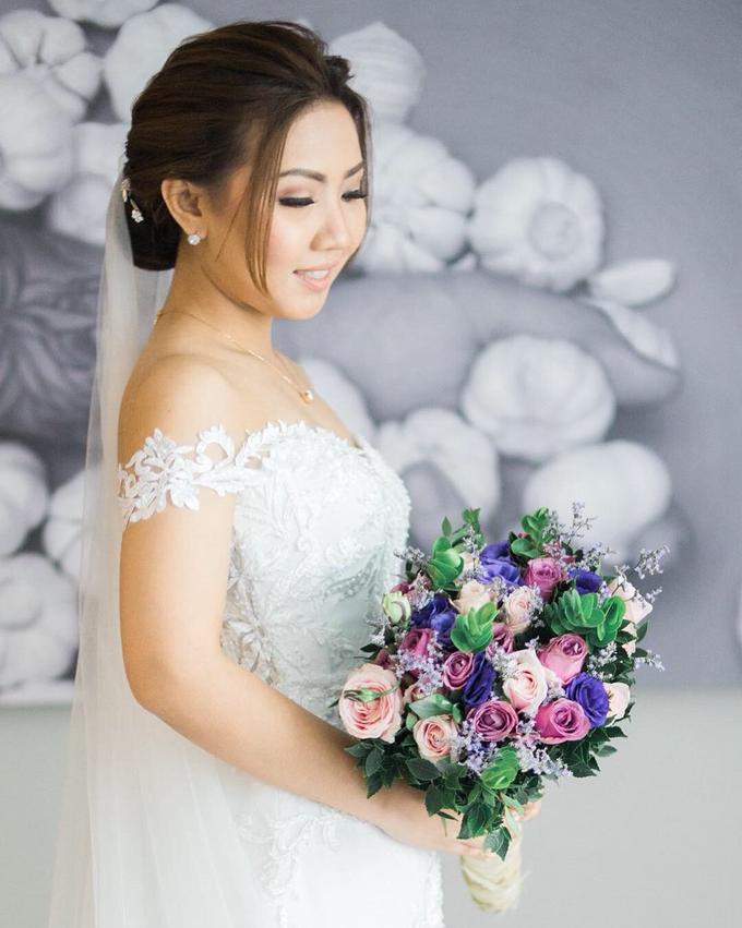 BRIDE: Monina ❤️ by Nybie Ng Make Up Artistry - 007