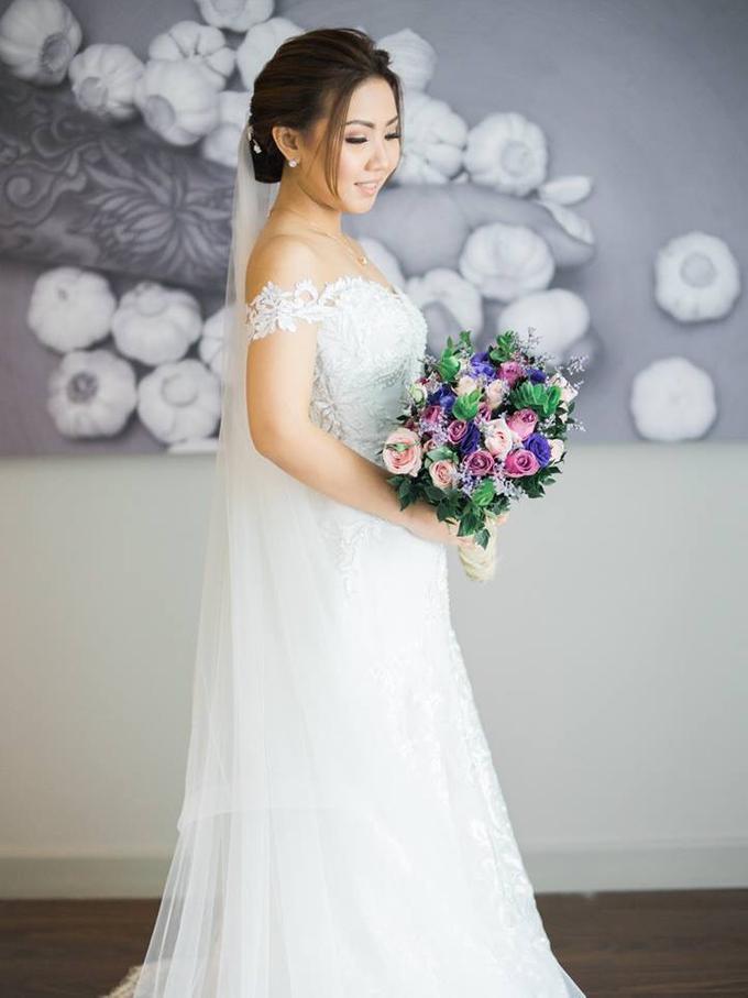 BRIDE: Monina ❤️ by Nybie Ng Make Up Artistry - 008