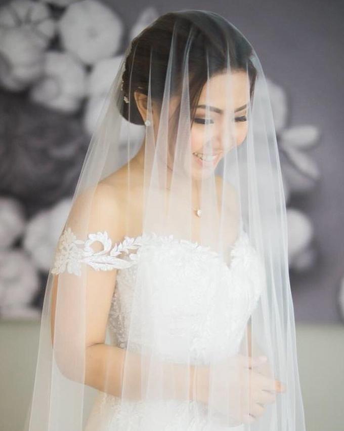 BRIDE: Monina ❤️ by Nybie Ng Make Up Artistry - 010