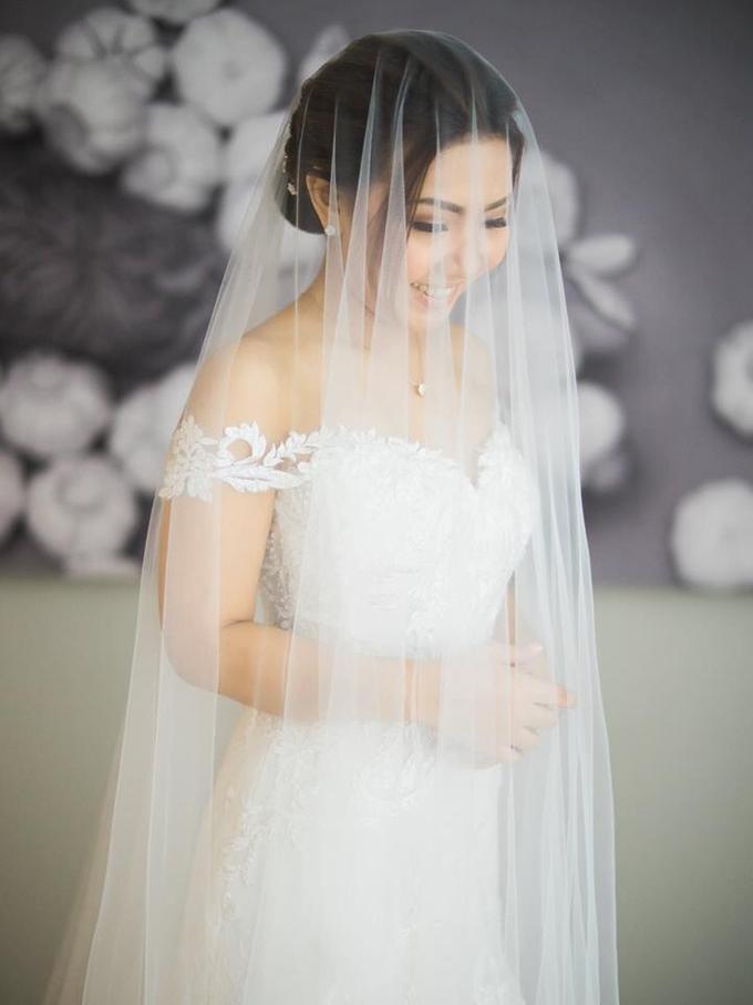 BRIDE: Monina ❤️ by Nybie Ng Make Up Artistry - 011