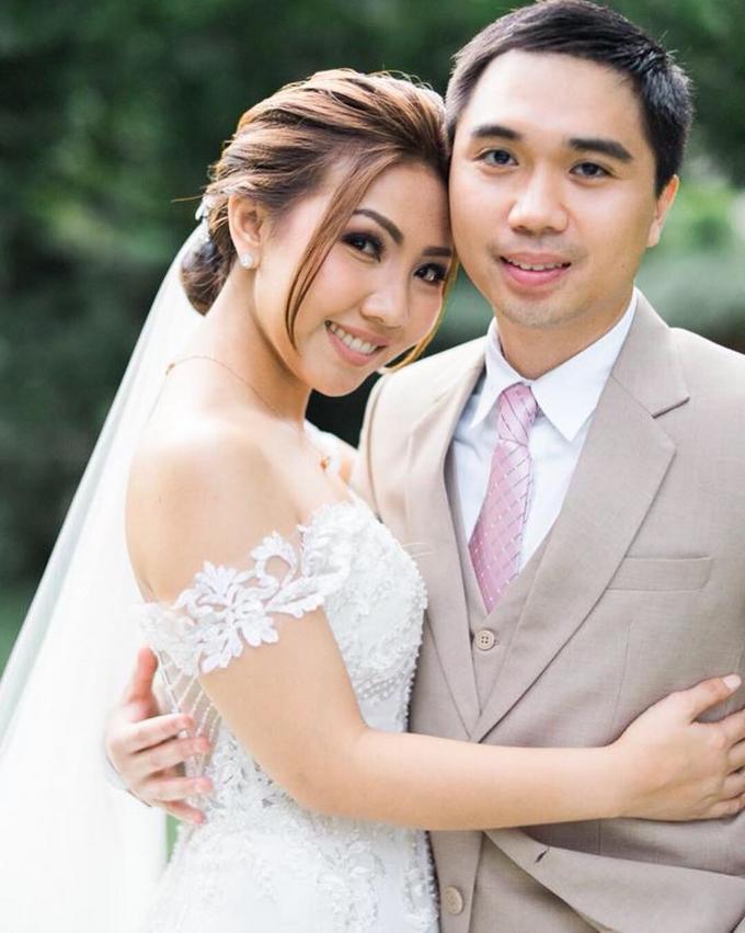 BRIDE: Monina ❤️ by Nybie Ng Make Up Artistry - 012