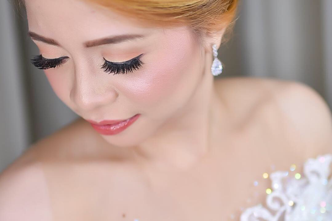 BRIDE: Chammy ❤️ by Nybie Ng Make Up Artistry - 008