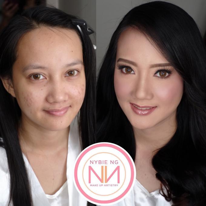 BRIDE: Tinay ❤️ by Nybie Ng Make Up Artistry - 001