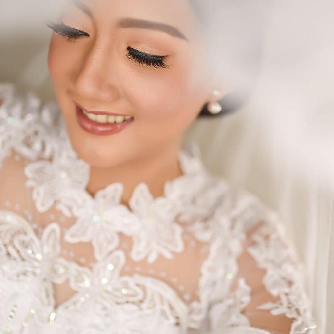BRIDE: Tinay ❤️ by Nybie Ng Make Up Artistry - 011