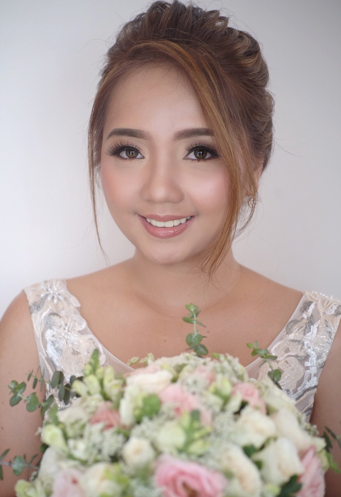 BRIDE: Ruth❤️ by Nybie Ng Make Up Artistry - 007