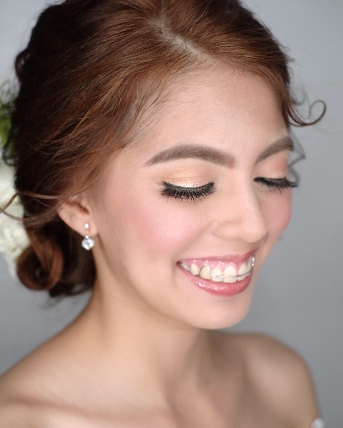 Bride: Angela ❤️ by Nybie Ng Make Up Artistry - 005