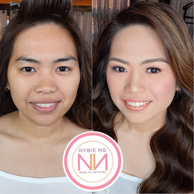 BRIDE: Mariel ❤️ by Nybie Ng Make Up Artistry - 001