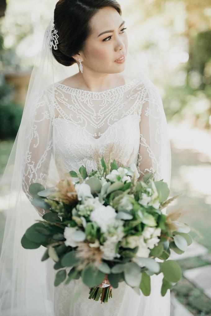 BRIDE: Mariel ❤️ by Nybie Ng Make Up Artistry - 008