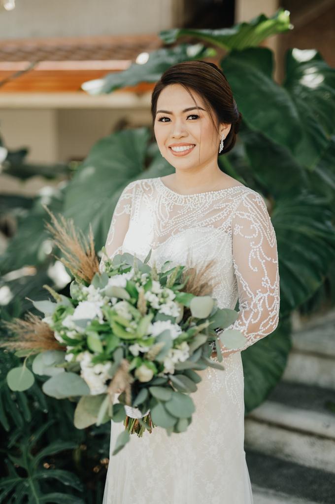 BRIDE: Mariel ❤️ by Nybie Ng Make Up Artistry - 009