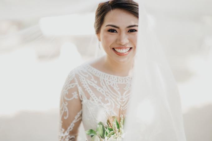 BRIDE: Mariel ❤️ by Nybie Ng Make Up Artistry - 010