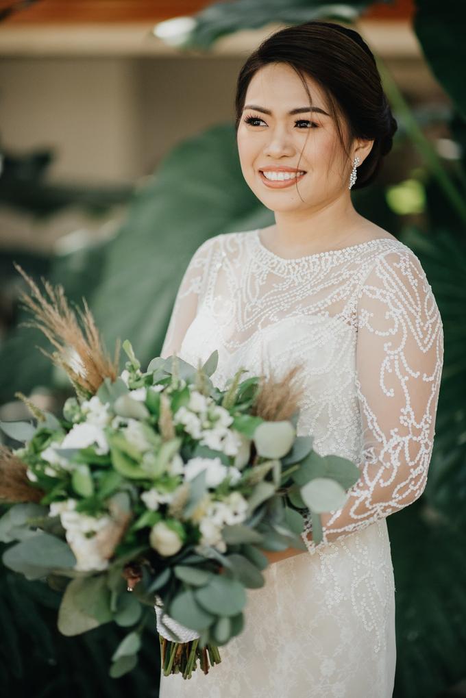 BRIDE: Mariel ❤️ by Nybie Ng Make Up Artistry - 011