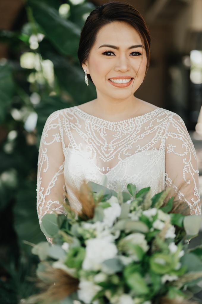 BRIDE: Mariel ❤️ by Nybie Ng Make Up Artistry - 012