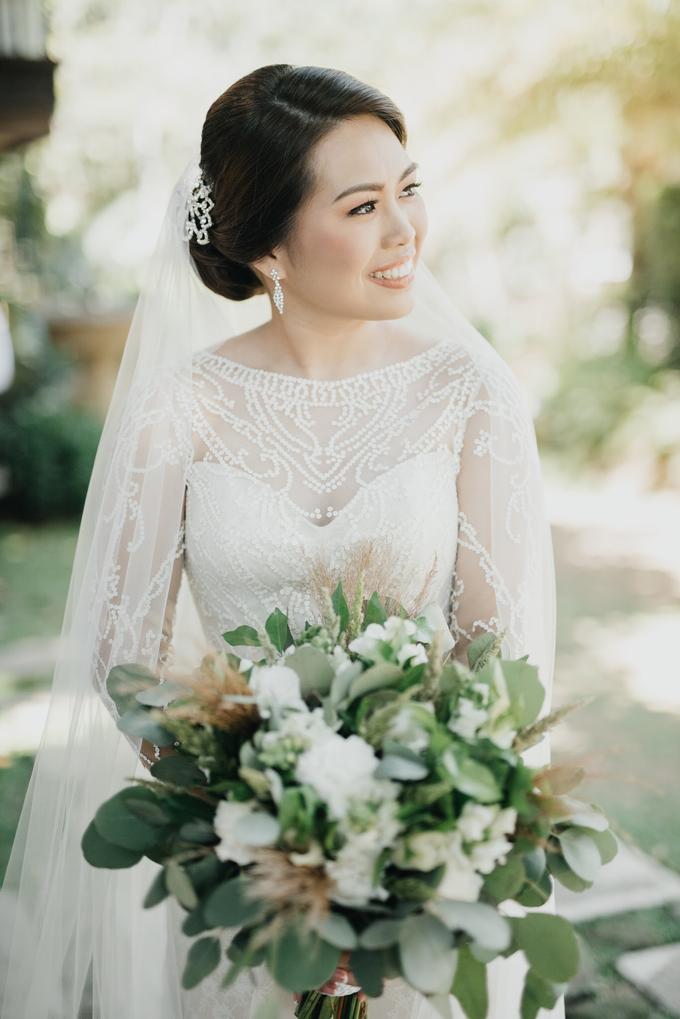 BRIDE: Mariel ❤️ by Nybie Ng Make Up Artistry - 013