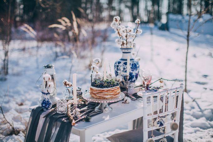 Wedding In Gzhel Style by Marina Nazarova Photographer - 012