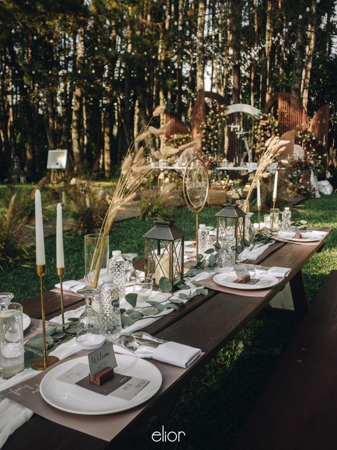 The Wedding of Nysha and Fariz by Elior Design - 019
