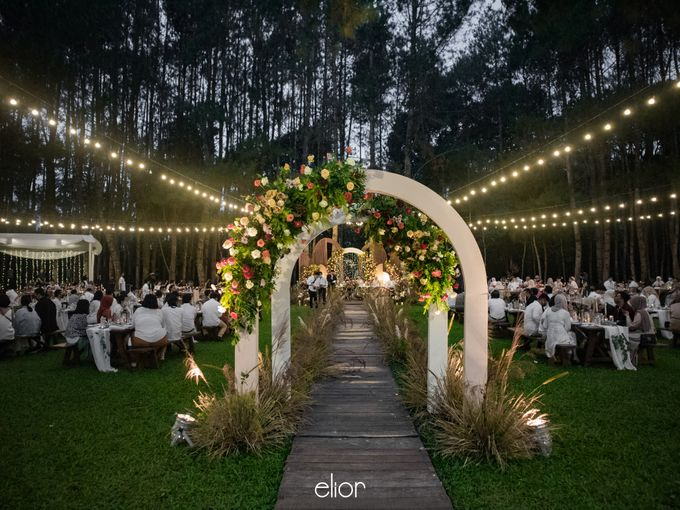 The Wedding of Nysha and Fariz by Elior Design - 023