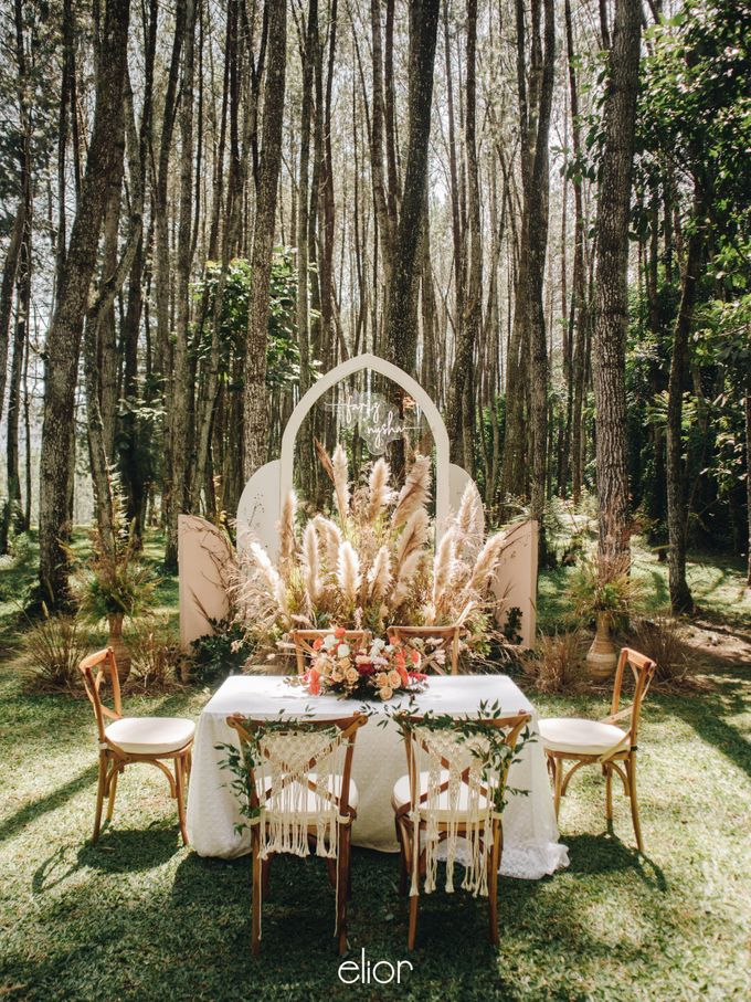 The Wedding of Nysha and Fariz by Elior Design - 001