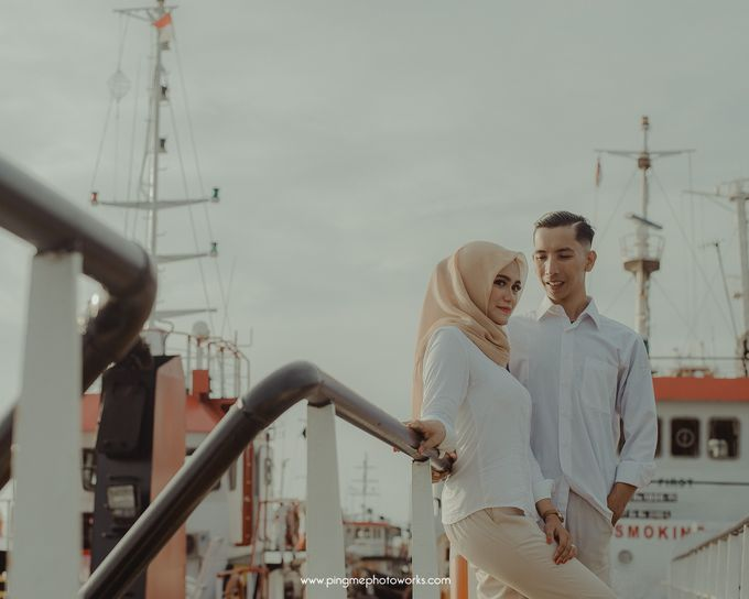 Prewedding Of Novi + Wawan by PING Me Photoworks - 001