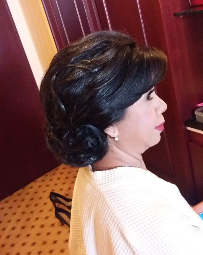Hairdo Mom Bride by Makeup And Hairdo By iis - 031