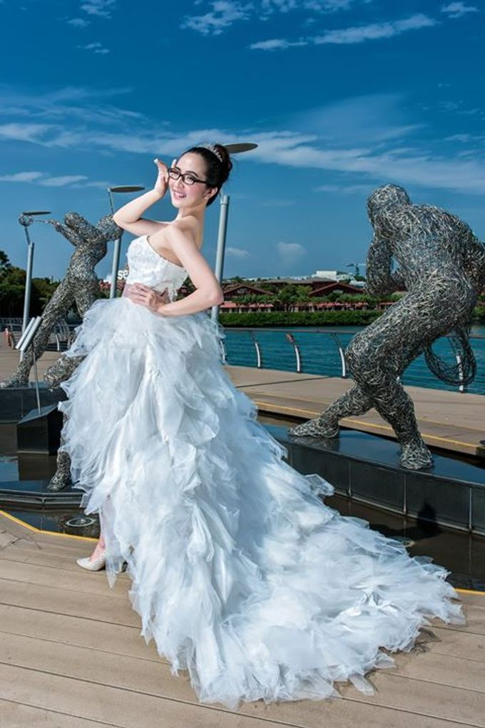 Natural Korean Bridal Look by Beautistylebykoreen - 010