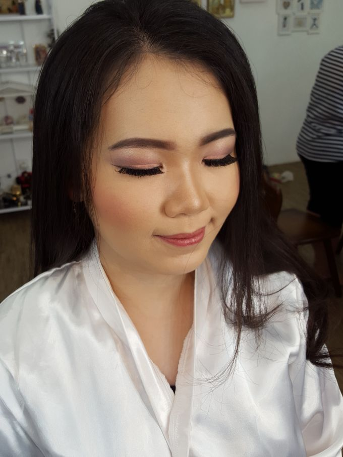 Wedding Makeup Trial For Ms. Yuli by Chesara Makeup - 005