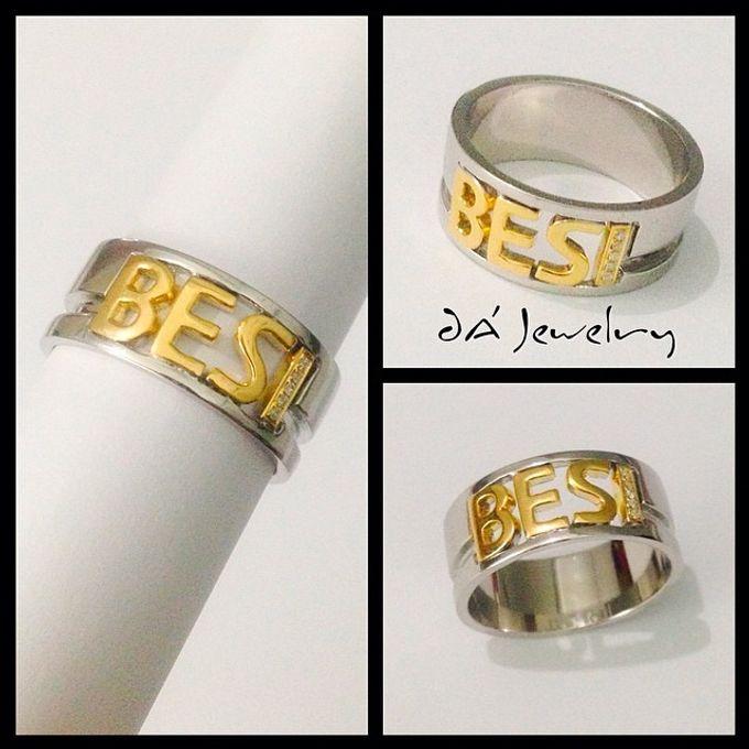 Name & Initial by DA Jewelry - 043