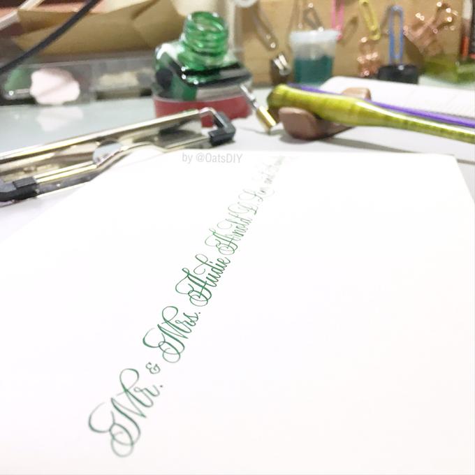 Envelope Addressing by Oats DIY - 002