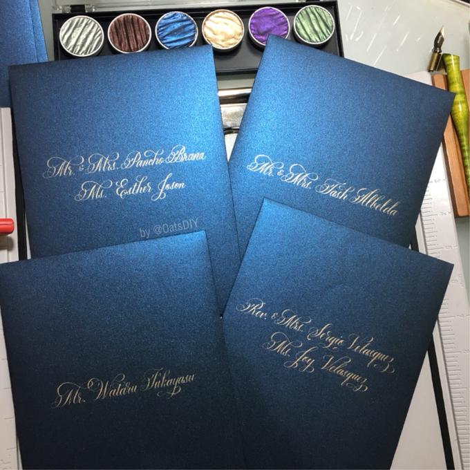 Envelope Addressing by Oats DIY - 008