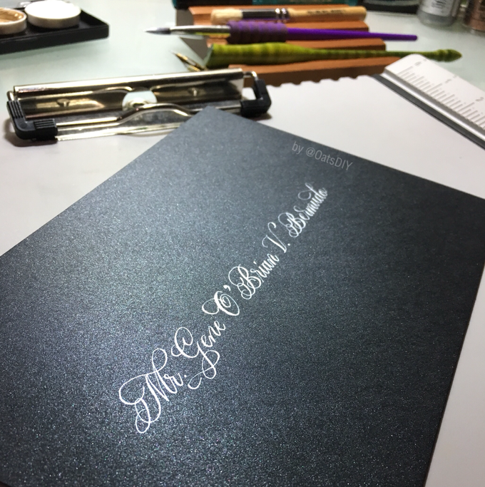Envelope Addressing by Oats DIY - 009