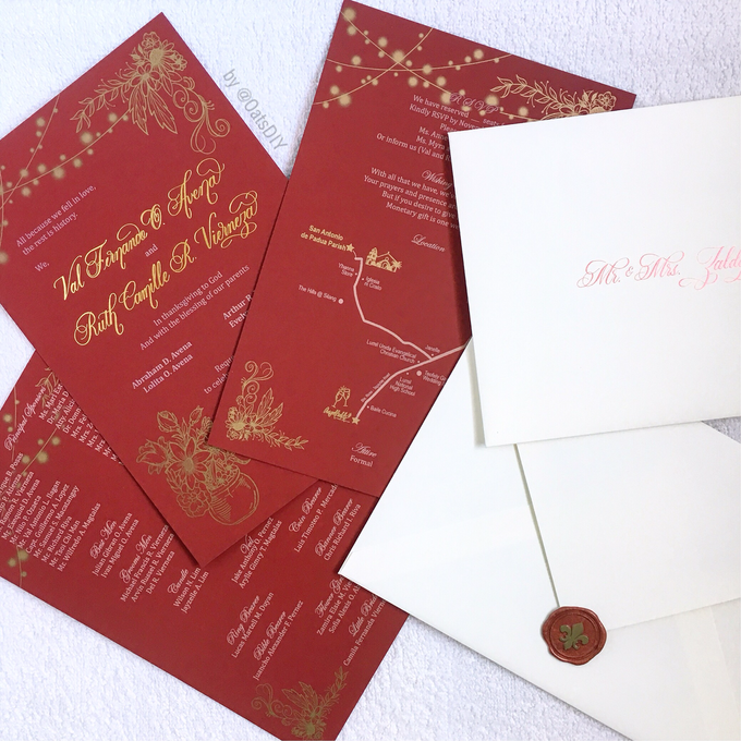 Invitation Design by Oats DIY - 001