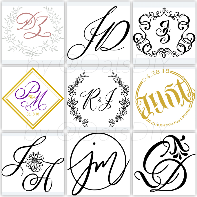Monogram Design by Oats DIY - 002