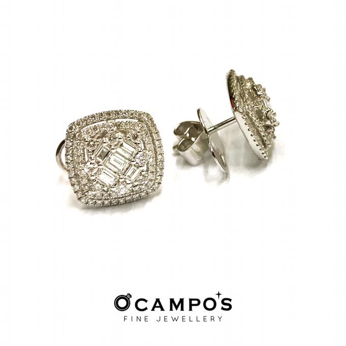 Diamond Set (Ring & Earrings) by Ocampo's Fine Jewellery - 002