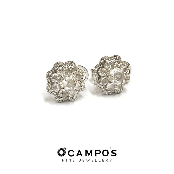 Diamond Set (Ring & Earrings) by Ocampo's Fine Jewellery - 004