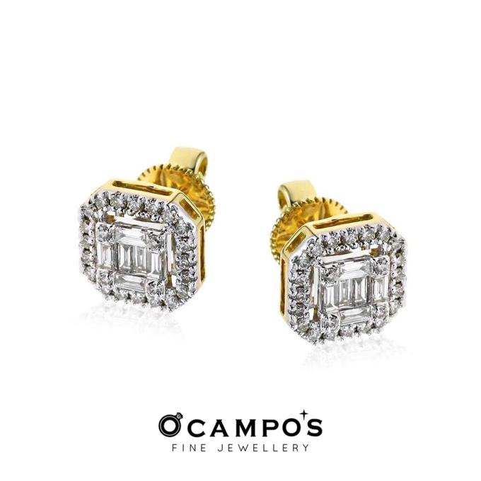 Diamond Set (Ring & Earrings) by Ocampo's Fine Jewellery - 005