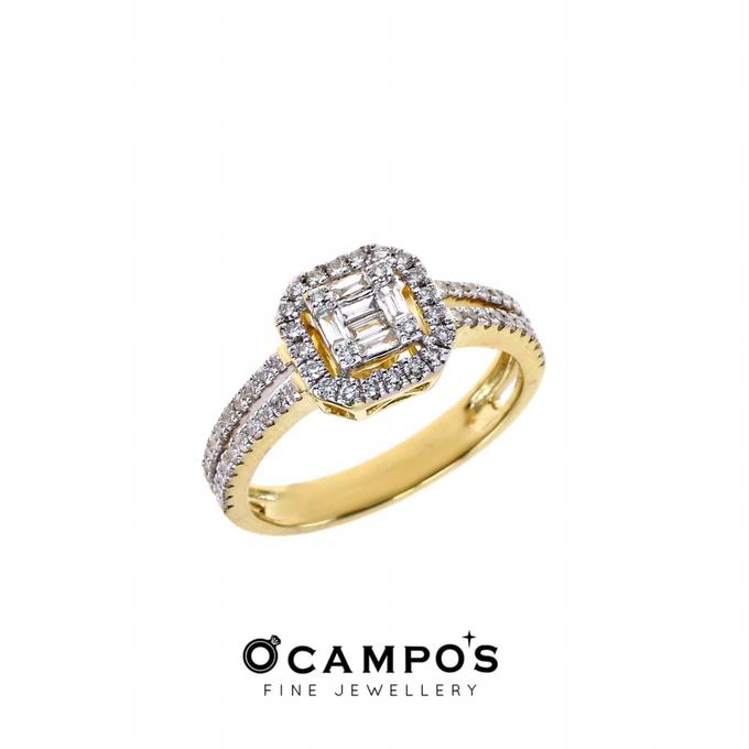 Diamond Set (Ring & Earrings) by Ocampo's Fine Jewellery - 006