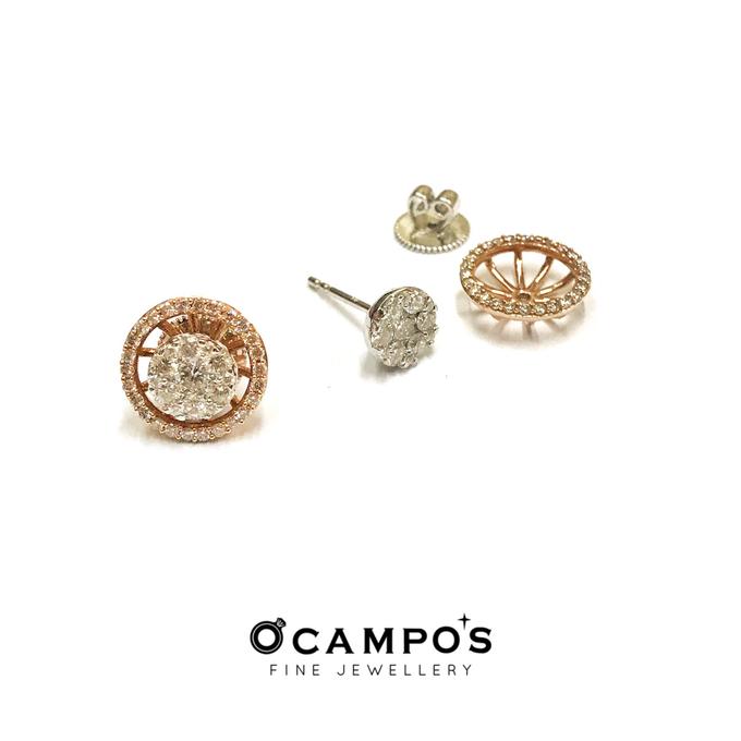 Diamond Set (Ring & Earrings) by Ocampo's Fine Jewellery - 008