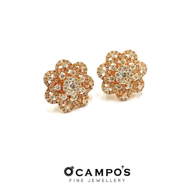 Diamond Set (Ring & Earrings) by Ocampo's Fine Jewellery - 009