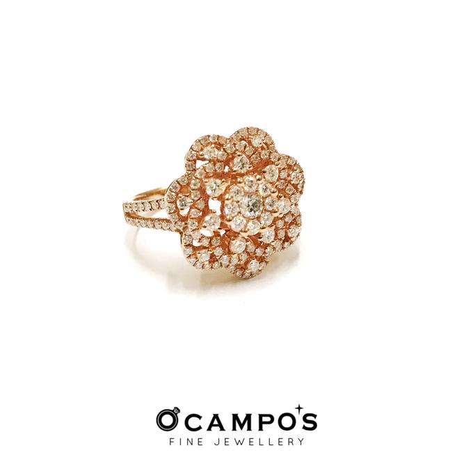 Diamond Set (Ring & Earrings) by Ocampo's Fine Jewellery - 010