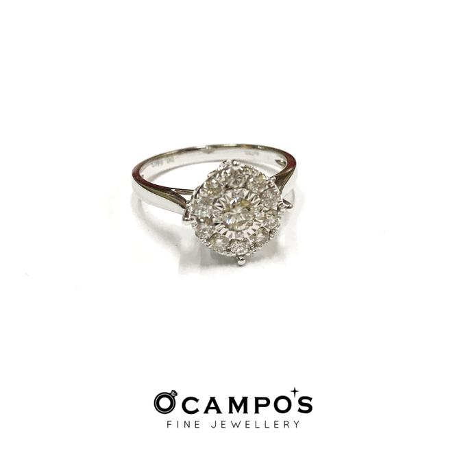 Diamond Set (Ring & Earrings) by Ocampo's Fine Jewellery - 012