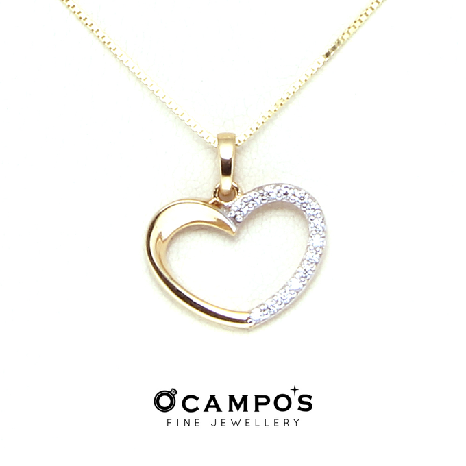 Heart Jewelry Pieces by Ocampo's Fine Jewellery - 023