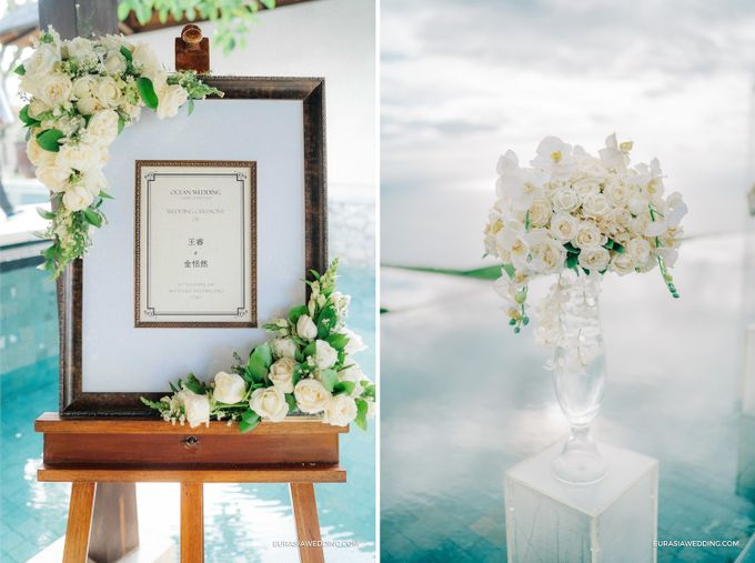 Sky Water Wedding -  Jin & Wang by Eurasia Wedding - 012
