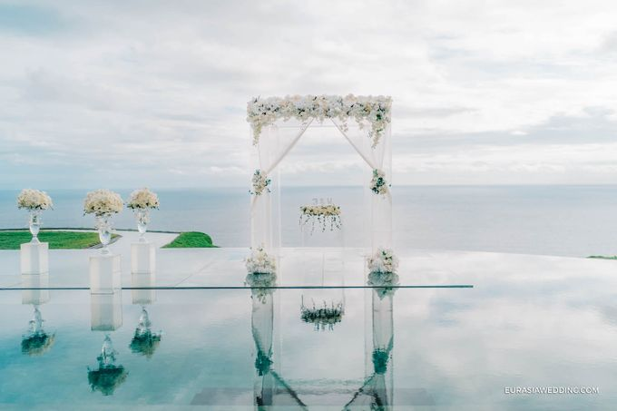 Sky Water Wedding -  Jin & Wang by Eurasia Wedding - 013