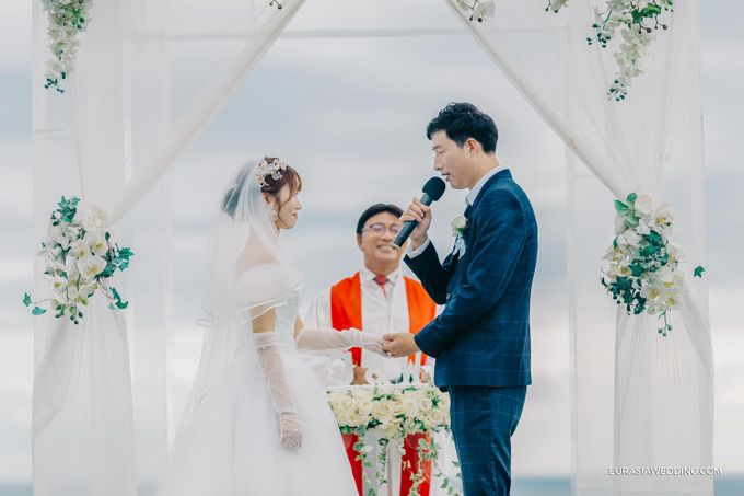 Sky Water Wedding -  Jin & Wang by Eurasia Wedding - 020